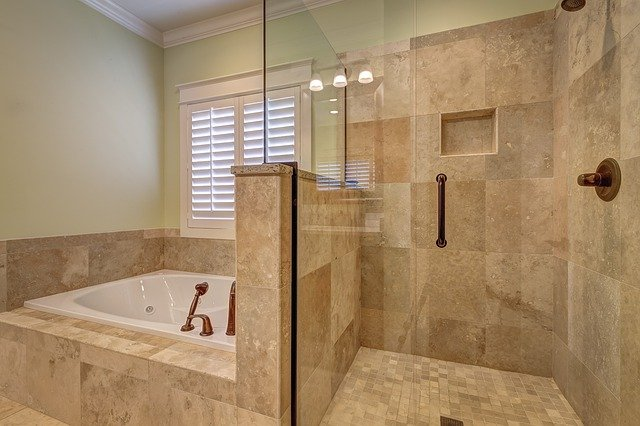 marbre salle de bains