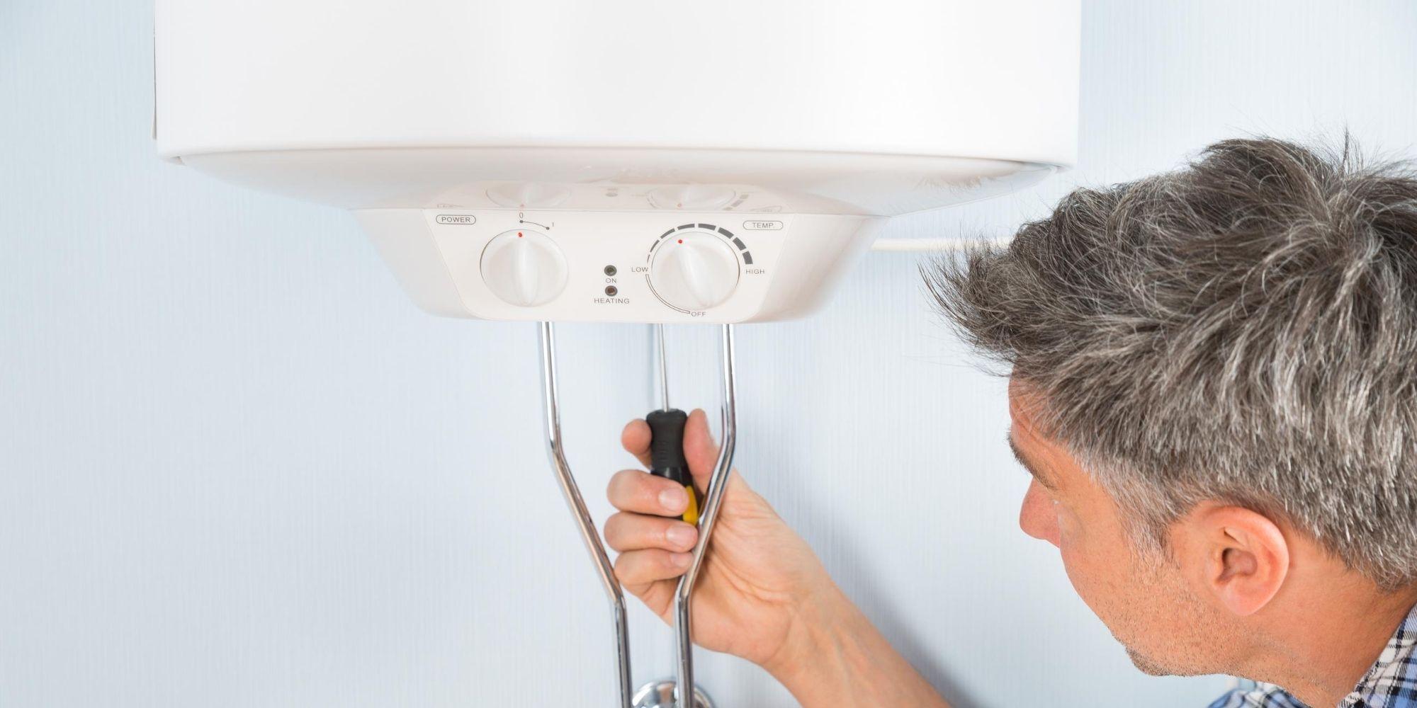réparer un chauffe-eau